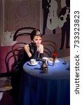 Small photo of VIENNA, AUSTRIA - OCT 4, 2017: Audrey Hepburn, a British actress, model, dancer and humanitarian, Madame Tussauds wax museum in Vienna.