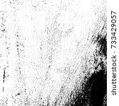 grunge black white. distress... | Shutterstock . vector #733429057