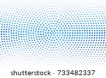 light blue vector illustration... | Shutterstock .eps vector #733482337