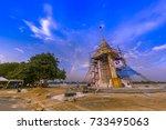krabi  thailand   october  6 ...   Shutterstock . vector #733495063