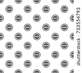 minus pattern seamless. repeat... | Shutterstock .eps vector #733554793