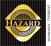 hazard gold shiny emblem