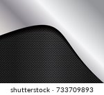 vector of abstract metallic... | Shutterstock .eps vector #733709893