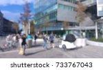 blurred illustration of walking ... | Shutterstock . vector #733767043
