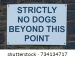 """strictly no dogs beyond this... 