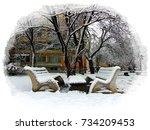 Romantic Urban Winter....