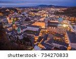Panoramic View From Salzburg...