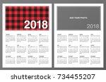 Two 2018 Calendar Templates ...