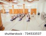krabi thailand   8th october  ...   Shutterstock . vector #734533537