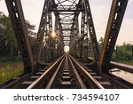 Black Bridge.railway Bridge On...