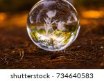 Autumn Scenery Crystall Ball O...