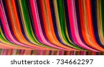 thai silk colorful colorful