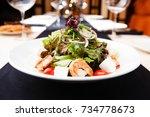 Greek Salad With Feta Cheese...