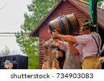 villa general belgrano   oct 04 ... | Shutterstock . vector #734903083