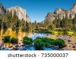 yosemite | Shutterstock . vector #735000037