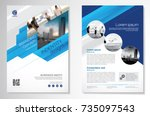 template vector design for... | Shutterstock .eps vector #735097543