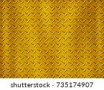 stainless steel texture | Shutterstock . vector #735174907