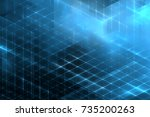 abstract business science or... | Shutterstock . vector #735200263