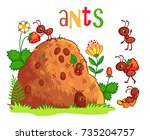 Vector Set With An Anthill And...
