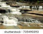 Small photo of Lakhaniya Dari Water Fall and sheets of rocks