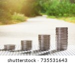 finance concept. | Shutterstock . vector #735531643