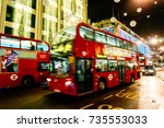 london  uk   november 8  2013 ... | Shutterstock . vector #735553033