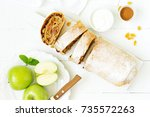 Apple Strudel With Raisins And...