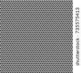 herringbone pattern. rectangles ... | Shutterstock .eps vector #735575413