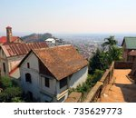Aerial View Of Antananarivo...