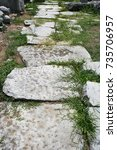 Small photo of Ignatian Way.The Ignatian Way (Via Egnatia) was was a road constructed by the Romans in the 2nd century BC. Road was travelled by Paul and companions recorded in the Bibles book of Acts. In Philippi.