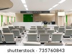empty lobby at hospital | Shutterstock . vector #735760843