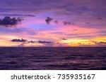 sunset | Shutterstock . vector #735935167