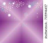 christmas background with...   Shutterstock .eps vector #735946657