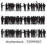 business people | Shutterstock .eps vector #73599307