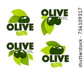 Green Olive Leaves  Lettering...