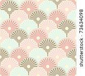 seamless japanese vintage...   Shutterstock .eps vector #73634098