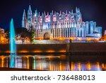Cathedral Of Palma De Mallorca...