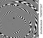 optical illusion  abstract...   Shutterstock .eps vector #736507267