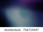 light pink  blue vector red... | Shutterstock .eps vector #736714447