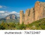 "landscape with ""mallos de...   Shutterstock . vector #736722487"