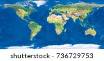 world map | Shutterstock . vector #736729753