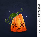 vector color illustration of... | Shutterstock .eps vector #736743967