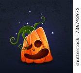 vector color illustration of... | Shutterstock .eps vector #736743973