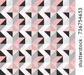 geometric pattern   Shutterstock .eps vector #736754653