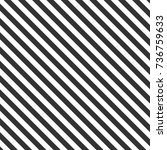 black diagonal stripes | Shutterstock .eps vector #736759633