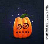 vector color illustration of... | Shutterstock .eps vector #736784983