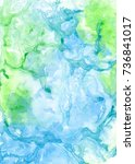 abstract watercolor background. ... | Shutterstock . vector #736841017