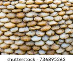 stone texture background. | Shutterstock . vector #736895263