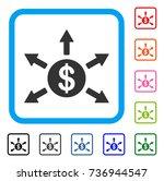 dollar cashout arrows icon....