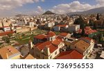 aerial birds eye view photo...   Shutterstock . vector #736956553